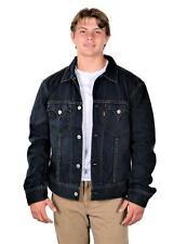 Levi's Men's TYPE 1 Iconic Trucker Jacket Blue Denim