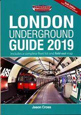 LONDON UNDERGROUND GUIDE 2019 Transport,Tube Surface Lines,Trains,Fleet List,Map