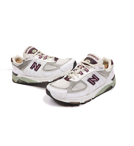 Vintage 90s New Balance 1123 Womens 11 Mens 9 2E Leather Dad Shoes Sneakers USA