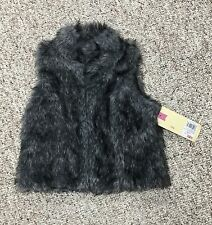 Cherokee Fur Vest Size 4/5 New With Tags