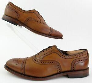 Allen Edmonds Strand Cap Toe Oxford Dress Shoes Walnut 12C Near Mint!