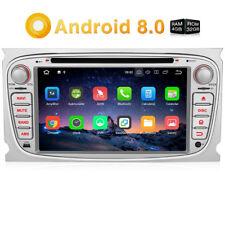 """7"""" Autoradio GPS Navi Android 8.0 DVD DAB 4G OBD2 Wifi 32GB 4GB für FORD Focus"""