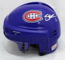 Shea Weber Montreal Canadiens Signed Autographed Canadiens Mini Helmet