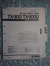 Yamaha tx-900 u service manual original repair book stereo receiver tuner radio