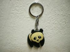 "Schlüsselanhänger ""Panda"" (Holz) / Keychain ""Panda"" (Wood)"