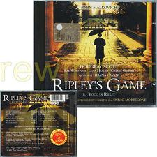 "ENNIO MORRICONE ""RIPLEY'S GAME"" RARE CD OST ITALY"