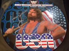 Hacksaw Jim Duggan - HAND SIGNED - HIGHLY VALUABLE & SOUGHT USA PIC DISC - WWE