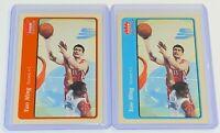 2004-05 Fleer Tradition Red & Blue Variations Yao Ming #112 NBA Houston Rockets!