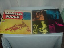 Lot of 2 Vanilla Fudge Vinyl Record Albums,Classic Rock,Classic Vinyl Music.