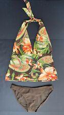 Gorgeous Tommy Bahama 2 Pieces Bathing Suit, Tankini Floral Print Women Size S/M