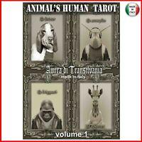 tarocchi degli animali mazzo carte gioco fortuna spiriti guida oracolo sibille 1