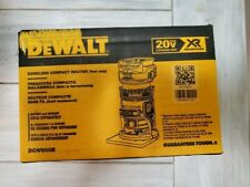 NEW IN BOX! DEWALT  DCW600B 20V MAX XR Cordless Compact Router - Tool Only