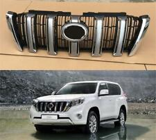 ABS Front Center Grille Grill Chrome For Toyota Prado 2700 2014 2015 2016