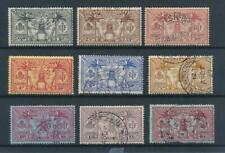 [56297] New Hebrides 1925 good set Used Very Fine stamps (4d is MH)