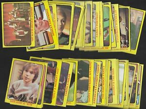 1971 Topps Partridge Family Yellow Series 1 Complete Set 55 cards!  Nice set.