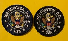 2 lot of Washington DC USA Patches Patch  570S