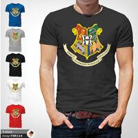 Harry Potter Mens Tshirt T Shirt Gray T-Shirt Hogwarts Large Cotton 2XL 3XL