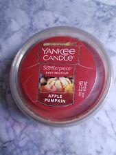 New Yankee Candle Scenterpiece Wax Melt Cups APPLE PUMPKIN easy meltcup 2.2 oz