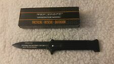 """Joker """"Why So Serious"""" Black Assisted Opening Folding Tac Force Knife 8""""  New"""
