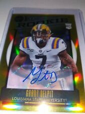 2020 Panini Legacy Grant Delpit Browns  Rc Auto Gold Parallel # 18/25
