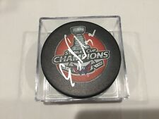 Evgeny Kuznetsov Signed 2018 Stanley Cup Caps Capitals Hockey Puck Autographed c