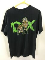 Wwf Vintage DX D-generation X Black & Green T Shirt Hbk HHH D2
