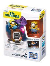 Mega Bloks Minions Silly TV 37 pcs. Boys & Girls 5 yrs + New 2015