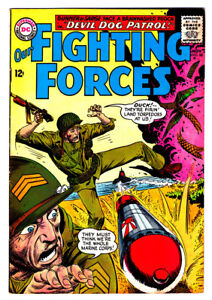 OUR FIGHTING FORCES #88 in VF- grade 1964 DC WAR comic with Gunner & Sarge