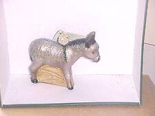 Donkey Old World Christmas glass ornament