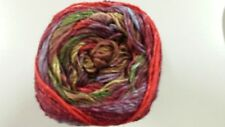 Noro Silk Garden Sock Yarn #S356 Red Brown Green Purple Mix 100g
