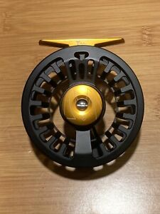 Maxcatch Tail Fly Fishing Reel Waterproof Light 5/6wt Black Reel with Fly Line