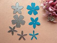Die Cutter Set hecha a mano de metal tarjeta Scrapbook Floral Flores corte muere DC060