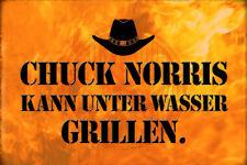 Chuck Norris Spruch 31 Blechschild Schild gewölbt Metal Tin Sign 20 x 30 cm