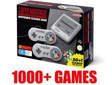 **1000+ GAMES** Super Nintendo SNES Classic Edition Mini Console AU Australian