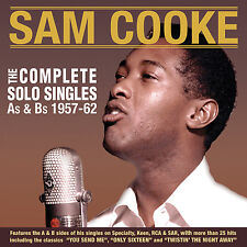 SAM COOKE New Sealed 2018 COMPLETE SOLO SINGLES 1957 - 62 2 CD SET