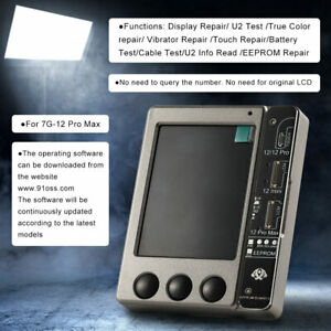W13 Pro LCD Light Sensor Vibrator Programmer Tester Tool for iPhone 7~12 Pro Max