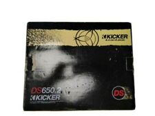New listing Kicker Ds Series Ds650. 6.5 inch 240W 2-Way Component 4 Ohm Car Audio Speaker