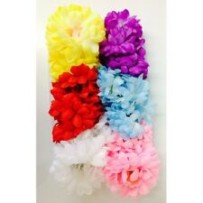12 X TOP NOTCH LADIES FLORAL HAIR CLAWS ASSORTED COLOURS BARGAIN ONLY £1.99