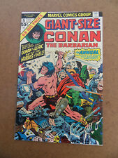 Giant Size Conan The Barbarian 5 . J.Kirby Cover . Marvel 1975 . VF