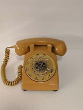 Stromberg Carlson Vintage Yellow Desk Phone SC G3 Untested