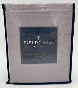 Fieldcrest Supine Classic Hemstitch 700 Thread Count Sateen Sheet Set (Full)
