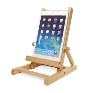 Tablet Ständer Holz Buche Design nachhaltig flach klappbar Buch- & Tabletständer