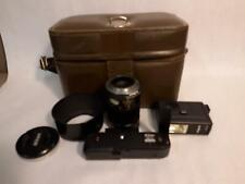 Vintage Camera Accessories Lot VIvitar Nikon Etc Filter Motor Telephoto Lens Bag
