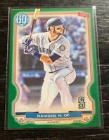 Mitch Haniger 2020 Topps Gypsy Queen #64 Green Parallel Seattle Mariners