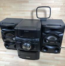 Sony HCD-EC69i MHC-EC69i Mini Hi-Fi Component System iPod Dock CD Radio MP3 80w