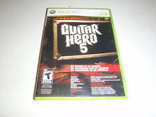 Guitar Hero 5 Xbox 360 Game Complete