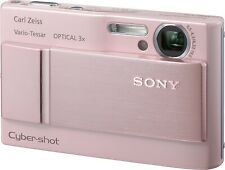 Sony Cyber-shot DSC-T20 8.1 MP Digital Camera - Pink