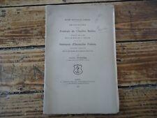 LORRAINE RECHERCHE  PORTRAIT CHARLES MELLIN CLAUDE GELLEE EUSTACHE POINTU 1903
