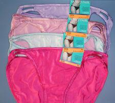 4  Vanity Fair Panty String Bikini Illumination 7 L 18108 Amethyst Pink Blue NWT
