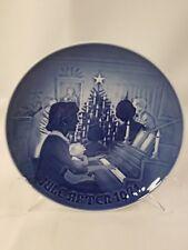 "1971 Christmas At Home B&G Bing & Grondahl Porcelain 7 1/4"" Collector Plate 1112"